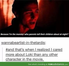 """"""" THIS GUY showed up on screen and I was done. Then Loki decided to play with my emotions and the rest is history."""" Well said, darn it Loki Marvel Jokes, Loki Thor, The Avengers, Tom Hiddleston Loki, Loki Laufeyson, Marvel Funny, Marvel Avengers, Marvel Comics, Darcy Thor"""
