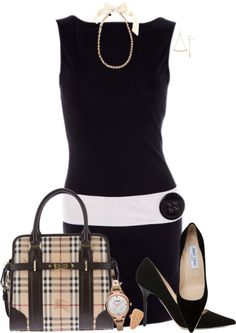 """""""Burberry Purse"""" by lmm2nd on Polyvore"""