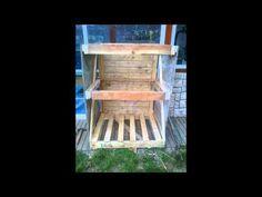 Fabrication d'un clapier à lapin artisanal en bois de palette
