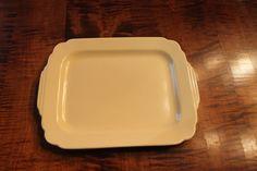Vintage Homer Laughlin Riviera Ivory Platter