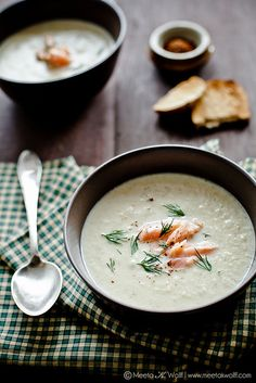 Roasted Fennel Soup with Pernod & Smoked Salmon by @MeetaWFLH #fennelfriday #hgeats
