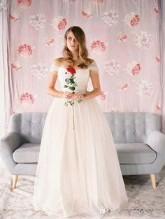 Wedding Dresses By Vera Wang Charming 2016 Blush Pink Wedding Gown Off Shoulder Ruched Girls Tulle Dresses Wedding Customized Simple Bridal Dress Sexy Wedding Dress From Adminonline, $105.77| Dhgate.Com