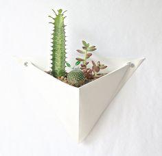 Origami Wall Planter - Single