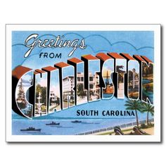 Charleston South Carolina SC Post Card