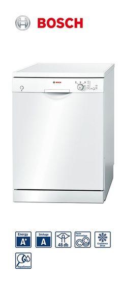 Lave-vaisselle - 60cm - Pose-libre - blanc | 12 couverts