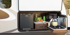 Hybrid Travel Trailer With Outdoor Kitchen