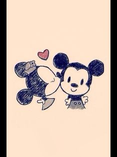 Minnie+Mickey=love