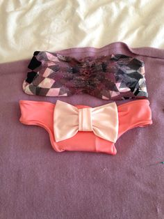 Bow Bottom Bikinis and Bandeau Top