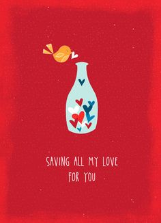 Saving Valentine Love Valentine's Day Card