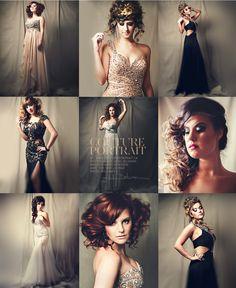 Photography by Heike Delmore | www.coutureportrait.ca | Inspired by Sue Bryce, Lara Jade, Anastasia Volkova