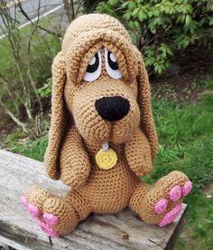 Ravelry: Basset Hound Puppy Amigurumi pattern by Lisa Jestes
