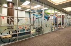 Storefront Window Graphics | Pediatric-Associates-of-the-Northwest-Storefront-Window-Graphics