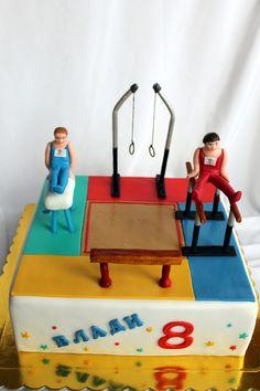https://flic.kr/p/DNdLgc | Gymnastics cake