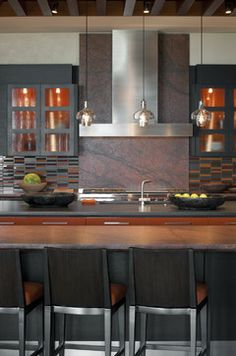 Custom Architecture - contemporary - kitchen - phoenix - Swaback Partners, pllc--- lovely