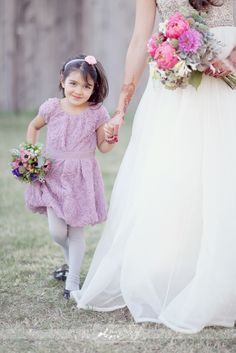 Flower girl dress! So adorable!!