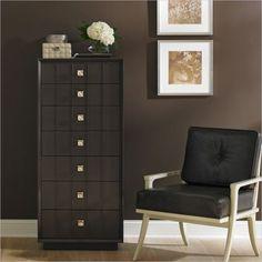 Crestaire - Monterey Chest in Flint - 436-83-12 - Stanley Furniture - Dresser - Bedroom - Modern Furniture