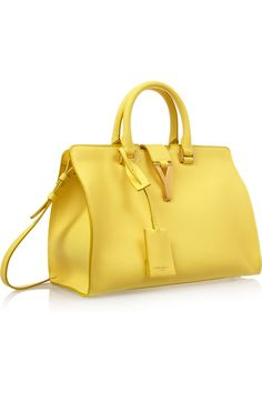 Yves Saint Laurent The Cabas Small Leather Tote