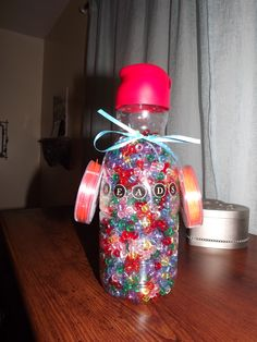 for crafts.. reusing old Creamer bottles
