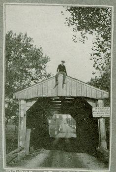 Covered bridges | Old covered bridge over Tom's Creek on Old Emmitsburg Road