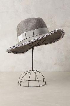 Georgina Rancher by Eugenia Kim Grey Hat Wool anthropologie.com