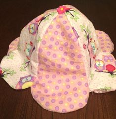 Very easy pattern, not to mention cute! I made a few of these sun hats for my daughter. The pattern runs big.