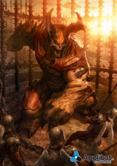 Artist: Johann Bodin aka yozartwork - Title: Absolute The one out of the cage of hell level 1 - Card: Unknown