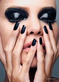 Hint Of Color - Photographed by Lucas Maciel Make Up Sil de Marcos Model Flor Baldi Nails Elizabeth Orcón Grández
