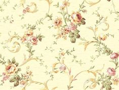 Classic Floral Scroll Trail - CG5641 from Inspired by Color Yellow and Orange book