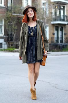 Spring 2012, Scout Jacket featured on Montreal in Style