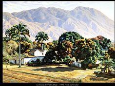 Manuel Cabré (1890-1984) El pintor del cerro el Avila Caracas, Venezuela