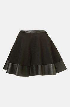 Top Shop Skater Skirt Black, im pretty sure you can get this online at kohls and forever 21 :)