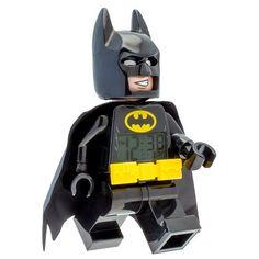 The Lego Batman Movie Batman Light Up Alarm Clock, Black