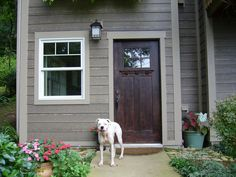 Order Cerber Rustic Fiber Cement Siding / River Rock, delivered right to your door. Exterior Window Molding, Exterior Siding, Exterior Design, Window Moldings, Fiber Cement Siding, Welcome To My House, House Siding, Exterior Remodel, Cladding