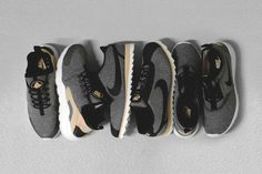 Three Classic Silhouettes Of The Nike Vachetta Pack Gets Cozy Make-Over