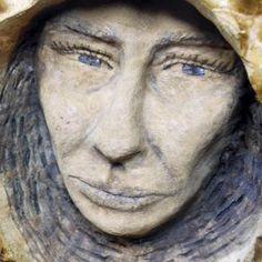 Wood Spirit Carving Fairy Pixie Female Handmade in by JoshCarteArt, $155.00