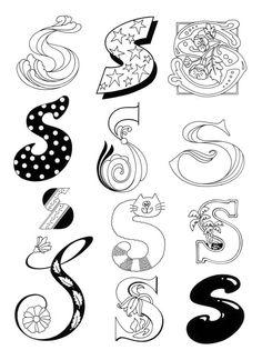 Alphabet Soup Letter S