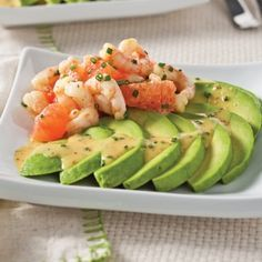Avocado, shrimp and grapefruit salad - 5 ingredients 15 minutes - -You can find Shrimp and more on our website.Avocado, shrimp and grapefruit salad - 5 ingre. Healthy Diet Recipes, Healthy Meal Prep, Healthy Drinks, Healthy Eating, Keto Recipes, Recipes Dinner, Avocado Recipes, Salad Recipes, Keto Avocado