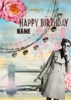 London Flowers - Personalised Birthday Card Discount code to get 10% off --> SCRTZZGL