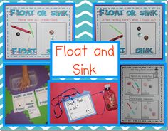 Float & Sink Activities for Columbus Day