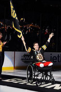 Boston Bruins honor Jeff Baumann