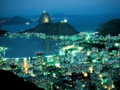 Rio de JaneiroPhotograph by Theo WestenbergerRio glitters by night.Read Paulo Coelho's reflections on Rio and learn more in National Geographic Traveler's 50 Places of a Lifetime iPad app.