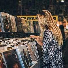 I can loose myself for hours in a record store. To that, this Saturday, April 16, 2016 is Record Store Day. I think that we might just visit a favorite in the city to mark the occasion and support a small business too.