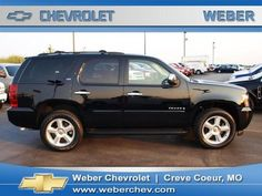 My dream car=Black Chevy Tahoe...found the picture through autotrader.com