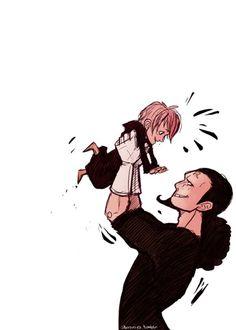One Piece, Rebecca, Kyros.