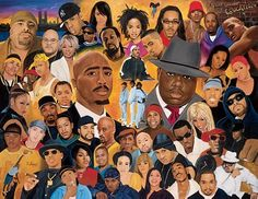 hip hop art - Buscar con Google