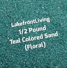 Items similar to Teal Sand for Unity Sand Ceremony - Teal Colored Floral Sand - Pound on Etsy Unity Sand, Sand Ceremony, Colored Sand, Teal Colors, Floral, Etsy, Diy Colored Sand, Flowers, Flower