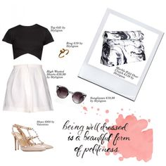 Dress to Impress by styligion on Polyvore featuring Mode and Valentino