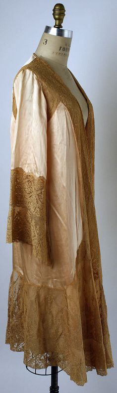 Tea gown, early 1930s
