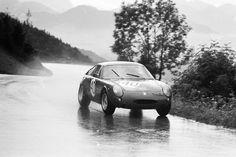 1965 GAISBERG HILLCLIMB, AUSTRIA - Abarth Simca 1300. Driver: Peter Maron (CH).