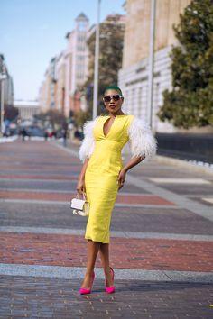 Bomb Blogger Sai Sankoh of Sai Sankoh via Fashion Blog Daily